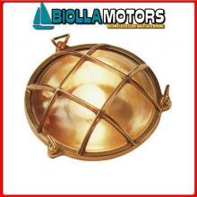 2147200 PLAFONIERA ROUND1 CAGE D155 OTTONE Lampade Tartaruga Rotonde S