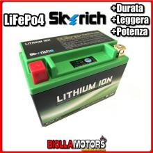 HJTX9-FP BATTERIA LITIO SKYRICH YTX9-BS LiFePo4 - YTX9BS MOTO SCOOTER QUAD CROSS