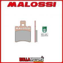 6215008BS COPPIA PASTIGLIE FRENO MALOSSI Anteriori SUZUKI AP 50 2T MHR SYNT Anteriori - per veicoli PRODOTTI 1995 --> ** OMOLOGA