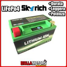 HJTX14H-FP BATTERIA LITIO SKYRICH YTX14H-BS LiFePo4 - YTX14HBS MOTO SCOOTER QUAD CROSS