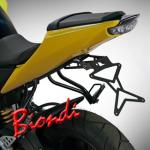 8901020 PORTATARGA MOTO REGOLABILE IN ACCIAIO YAMAHA YZF-R 125 cc. 2008