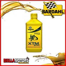 339041 1 LITRO OLIO BARDAHL XTM SYNT 10W40 LUBRIFICANTE PER MOTO 4T 1LT