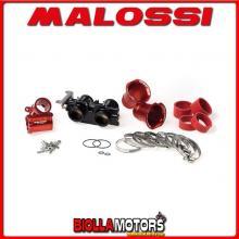 1616722 CORPO FARFALLATO MALOSSI D. 38 YAMAHA TMAX 530 IE 4T LC 2012->2014 (J409E) COMPLETO CON OVALE -