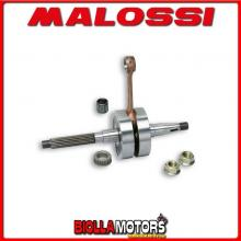 539212 ALBERO MOTORE MALOSSI MHR APRILIA SR 50 2T LC EURO 4 (PIAGGIO CA81M) BIELLA 85 - SP. D. 12 CORSA 39,3 MM -