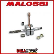 539212 ALBERO MOTORE MALOSSI MHR GILERA RUNNER 50 2T LC BIELLA 85 - SP. D. 12 CORSA 39,3 MM -