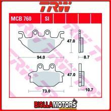 MCB760SI PASTIGLIE FRENO ANTERIORE TRW CPI XS 250 ATV 2006-2007 [ORGANICA- ]