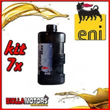 KIT 7X LITRO OLIO ENI FORK OIL 5W FORCELLA - 7x E142591