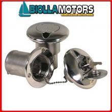 4043092 TAPPO KEY WATER D38 INOX Tappi di Coperta Key-Lock