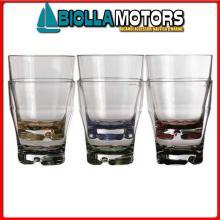 5801810 MB PARTY SET 6PZ BICCHIERE ACQUA Bicchiere Water Colour