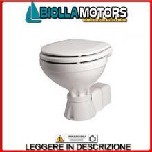 1320022 TOILET AQUAT SILENT COMPACT 12V WC - Toilet Elettrica Johnson AquaT Silent