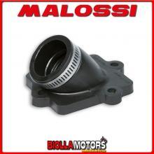 028857B COLLETTORE ASPIRAZIONE MALOSSI RACING D. 22 - 28 ITALJET DRAGSTER 50 2T LC LUNGHEZZA 29 INCLINATO IN NBR -