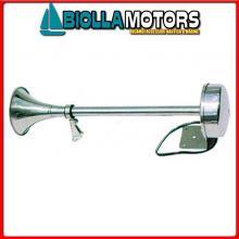 1901201 TROMBA SINGLE L450 INOX Tromba Singola AA Inox