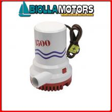1821016 POMPA WWB 1500GPH 24V Pompe di Sentina BW M-Pump