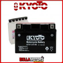 712128 BATTERIA KYOTO YT12A-BS SIGILLATA CON ACIDO YT12ABS MOTO SCOOTER QUAD CROSS