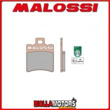 6215007BS COPPIA PASTIGLIE FRENO MALOSSI Anteriori GILERA EASY MOVING 50 2T MHR SYNT Anteriori - per veicoli PRODOTTI 1995 --> *