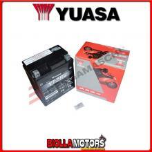 E01167 BATTERIA YUASA 12V 7AH CON ACIDO SIGILLATA MOTO SCOOTER QUAD CROSS