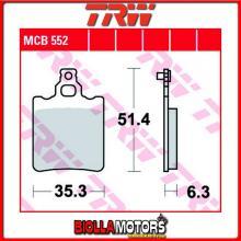 MCB552 PASTIGLIE FRENO ANTERIORE TRW Malanca GTI 125 - [ORGANICA- ]