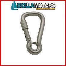 0212080 MOSCHETTONE EYE WIDE LOCK D8 INOX Moschettone Wide Lock Eye