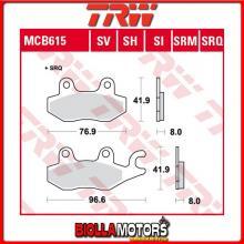 MCB615SI PASTIGLIE FRENO ANTERIORE TRW Quadzilla RS6 600 4WD 2010- [ORGANICA- ]