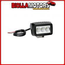 72318 LAMPA WL-10, FARO AUSILIARIO A 3 LED CREE - 10/30V - BIANCO