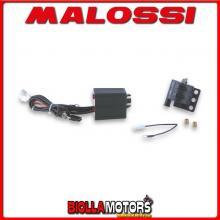 5512791 Centralina MALOSSI TC UNIT FANTIC CABALLERO 50 2T LC (MINARELLI AM 6) RPM CONTROL K15 completa di bobina -