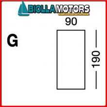 5801331 MB COPRIMATERASSO ELASTIC G BLUE Elastic Cotton Sheet G