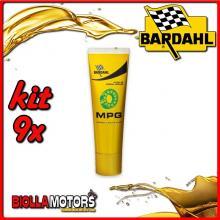 KIT 9X 250ML MPG BARDAHL GRASSO MULTIUSO 250ML - 9x 502019