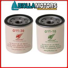 4125565 GRF G11/10 FILTER ELEMENT< Cartucce per Filtri Separatori Diesel Griffin
