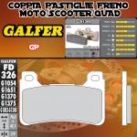 FD326G1300 PASTIGLIE FRENO GALFER GP ANTERIORI HONDA CBR 1000 RR FIREBLADE C-ABS 09-