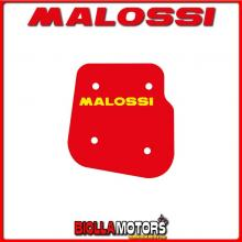 1411416 SPUGNA FILTRO ARIA MALOSSI YAMAHA WHY 50 2T RED SPONGE PER FILTRO ORIGINALE -