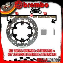 KIT-IWV1 DISCO E PASTIGLIE BREMBO ANTERIORE KTM SMC R 690CC 2014- [GENUINE+FLOTTANTE] 78B408A8+07BB3396