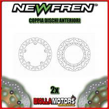 2-DF5153A COPPIA DISCHI FRENO ANTERIORE NEWFREN BMW R 850cc C 1997-2001 FISSO