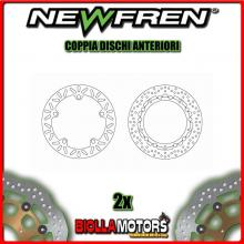 2-DF5153AF COPPIA DISCHI FRENO ANTERIORE NEWFREN BMW R 850cc C 1997-2001 FLOTTANTE