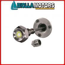 2121606 FARETTO SUB LED DRAIN 9X3W BLUE< Faro Subacqueo WK LED-27W Drain Plug
