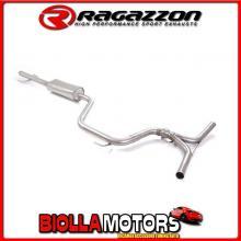 57.0040.00 SCARICO Evo Alfa Romeo 159 1750TBi (147kW) +Sportwagon 2009>2011 Centrale inox
