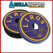 3101222 FILO IMPIOMBATURE 1.5MM 20MT BLACK Filo per Impiombature in Poliestere Paraffinato Colorato