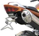 8909991 PORTATARGA MOTO REGOLABILE IN ACCIAIO HONDA Hornet 600 - 2003-2004