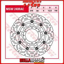 MSW240RAC DISCO FRENO ANTERIORE TRW Honda CBR 1000 RRFireblade 2004-2005 [FLOTTANTE - CON CONTOUR]