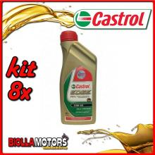 KIT 8X LITRO OLIO CASTROL EDGE 10W60 LT1 - 8x EDGE 10W60 LT1