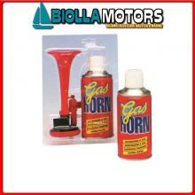 1902000 TROMBA GAS HORN Tromba con Bomboletta Gas Horn 1