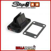 S6-3219001 Valvola Lamellare Stage6 VForce3 by Moto Tassinari MALAGUTI xtm enduro 50cc (am6) - (dal '03) STAGE6 RT