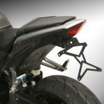 8901017 PORTATARGA MOTO REGOLABILE IN ACCIAIO HONDA CBR 600F 2011