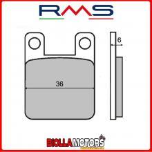 225100080 PASTIGLIE FRENO RMS ANTERIORE GILERA GSM 50 1999- 50CC (ORGANICHE)