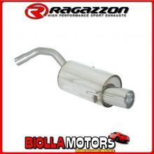 58.0042.06 SCARICO Evo Alfa Romeo 147 1.9JTD (85/103/110kW) - 1.9JTDm (88/110kW) dal 11/2004 > 10/2006 Posteriore inox con termi