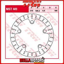 MST449 DISCO FRENO ANTERIORE TRW Honda VFR 1200 X,XD,XL,XDLCrosstourer 2012-2015 [RIGIDO - ]