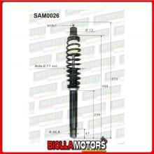 SAM0026 COPPIA AMMORTIZZATORI ANTERIORI MICROCAR LIGIER X-TOO MAX 0200072 (MK026)