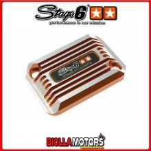 S6-SSP101-2BZ/OR COPERCHIO FRENO SSP ARANCIONE ANODIZZATO (SINGOLO) BOOST 2004 / STUNT / AEROX
