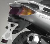 8909980 PORTATARGA MOTO REGOLABILE IN ACCIAIO YAMAHA T-Max 500 cc. 2000-2007