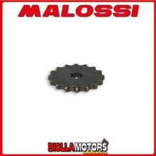 613320 PIGNONE TRASMISSIONE MALOSSI Z16 SUZUKI RG 80 2T - -