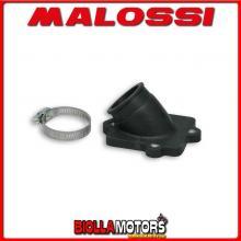 0213662B COLLETTORE ASPIRAZIONE MALOSSI RACING D. 22 - 28 ITALJET DRAGSTER 50 2T LC LUNGHEZZA 29 INCLINATO IN FKM -